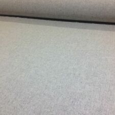 Light Grey Plain Weave Pure Shetland Wool Fabric,Upholstery/Curtains.UK WOVEN
