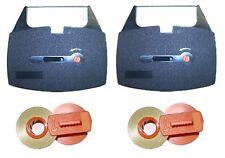 143 Lift-Off für Canon AP02 AP110 AP120 AP150 MX 100 150 156C 2 x Farbband Gr