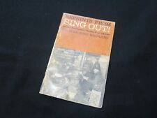Reprints from Sing Out - Folk Song Magazine Sheet Music Book - Rare!!!!