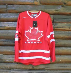 BNWT Nike Team Canada Hockey Vancouver 2010 Olympic Mens Small Hockey Jersey