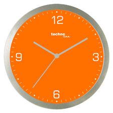 Technoline, WT 9000 Quarzwanduhr, orange, Ø 30cm
