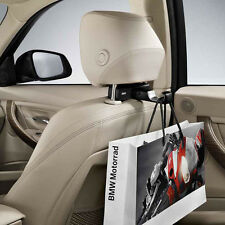 Genuine BMW Universal Seat Hook w/ Base Carrier - 51952183855 + 51952183852 OEM