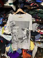 VIntage  90s Katz Catsablanca Humor Spoof Casablanca Movie Art T Shirt OSFA