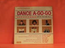 DANCE A-GO-GO WITH ALL THE STARS - DOO-WOP NORTHERN SOUL VARIOUS LP RECORD -Z