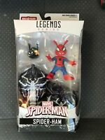"""Marvel Legends 6"""" Spider Ham New Sealed Mint w/ Monster Venom BAF Spider-Man"""