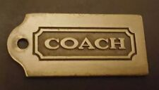 COACH Purse Hang Tag Metal Authentic Replacement Accessory Gift Stocking Stuffer