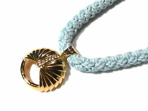 Bijou alliage doré collier pendentif  haute couture Carita necklace