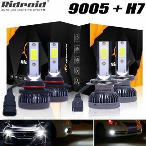 For Subaru Outback Legacy 2005-2014 Hi/Lo Beam LED Headlight Combo Bulbs 6000K