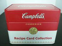 CAMPBELLS RECIPE BOX, 2007 WITH 76 CLASSIC RECIPES