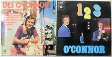 DES O'CONNOR 1960'S UK POP LP'S LOT OF 2 #3319