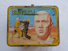 Original Vintage Kung Fu Lunchbox 1974 David Carradine vtg good condition