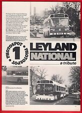 Buses Magazine Extract ~ Leyland National - Crosville LCBS Merthyr London - 1986