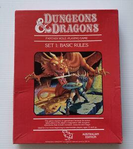 RARE - Dungeons & Dragons - Basic Rules Set 1 #1011 - Australian Edition 1983