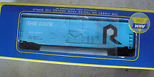 Vintage HO Scale AHM The Rock 50' Combination Box Car in Box