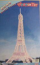 Eiffel Tower Wooden Toy Kit Japanese Version