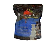 """Custom Colored Chocolate Fountain Fondue """"Ready to Use"""" for Home Fountains"""