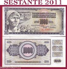 YUGOSLAVIA  1.000 1000   DINARA 12.8. 1978   P  92c   FDS / UNC