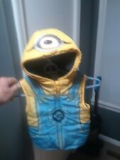 Minion jacket for toddler. 5T.