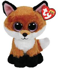 TY Beanie Boo Plush - Slick the Fox 15cm