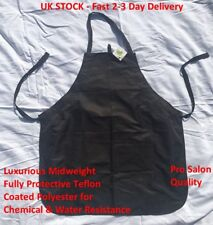Black Luxury Apron Stylist Colour Tint Salon Hair Hairdressing Make Up Cape Gown