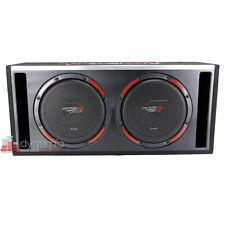 "Cerwin Vega H6E12DV Car Stereo 12"" Dual Loaded Sub Slot-Vented Ported Enclosure"