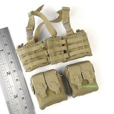 BBI US Navy Seal Team 3 HAHO Desert Ops Figure 1:6 Scale Chest Rig + Pouches