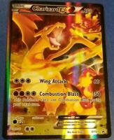 FULL ART Charizard EX ULTRA RARE XY121 Red-Blue Black Star Promo Pokemon Card LP