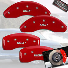 2001-2010 Chrysler PT Cruiser NT Front + Rear Red MGP Brake Disc Caliper Covers