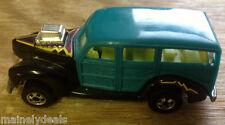 1979 Mattel Hot Wheels Turquoise Panel Woody! See Pics!