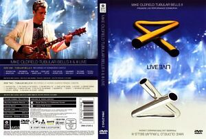 DVD MIKE OLDFIELD - TUBULAR BELLS II LIVE (DVD) - 1999