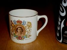 QUEEN ELIZABETH II, CORONATION JUNE 2nd 1953, Ceramic Coffee Cup, Vintage