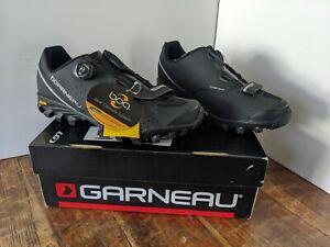 Louis Garneau Men's Onyx Black Bike Cycling Touring Shoes size 44 US 10