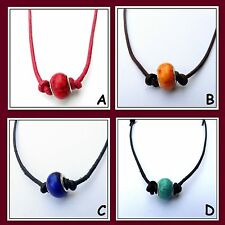 Modeschmuck-Halsketten & -Anhänger im Collier-Stil aus Stein