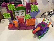 Lot Of Imaginext The Joker Funhouse Laugh Factory and Tank