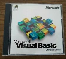 Microsoft Visual Basic Standard Edition With Key 4.0 Part # 64510 LNC