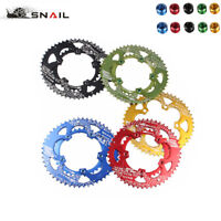 SNAIL 110bcd 50T/35T Road Bike Chainring Double Speed Oval Chainwheel Bolts
