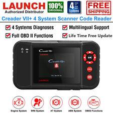 Launch 4 System Scanner Tool OBD2 Code Reader Engine ABS SRS Transmission Scan