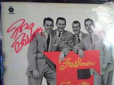 Ross Barbour signed autographed Four Freshmen LP 1956 Capitol Records
