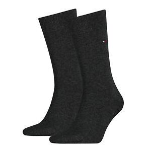 Tommy Hilfiger - Business Socken - 4 Paar - anthrazit - Größe 43/46
