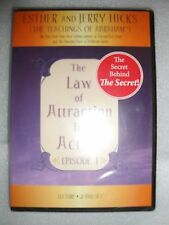 BRAND NEW 2-DVD The Law of Attraction in Action Episode 1 Lecture Secret