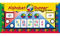 NOW REDUCED: Alphabet Runner Board Game. It's a Race to the Finish!
