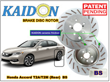 "Honda Accord T2A/T2M brake disc rotor KAIDON (REAR) type ""BS"" / ""RS"" spec"