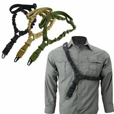 Tactical Single Point Rifle Sling Shoulder Strap Nylon Adjustable