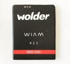 Bateria para Wolder WIAM 23 (4G) 1800 Mha