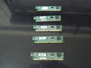 5 X Cisco PVDM2-16   16 Channel Packet/Voice DSP Module