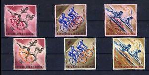 TOP GUINEA 1965, MiNr. 239 - 241 a + b, **, postfrisch, LUXUS, Olympia, E10