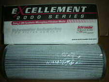 """SCHROEDER Excellement JZ3, 9"""" L 3.5"""" OD 1.6"""" ID 3-Micron Replacement Filter NOS!"""