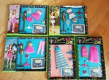 Topper Dawn outfits - set of 5 in box - Fashions for Dawn & Friends - green box
