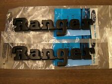 NOS OEM Ford 1987 - 1991 Ranger Truck Pickup Fender Emblems Ornaments 1988 1989