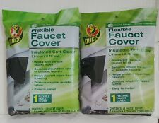 Duck Brand Flexible Faucet Cover Insulated Soft 7.5 x 8.75 Brand NEW ~ Lot of 2